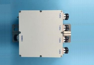 Outdoor Quad Band Combiner / 4 Way Power Divider IP67 Water Protection With PIM 150BC